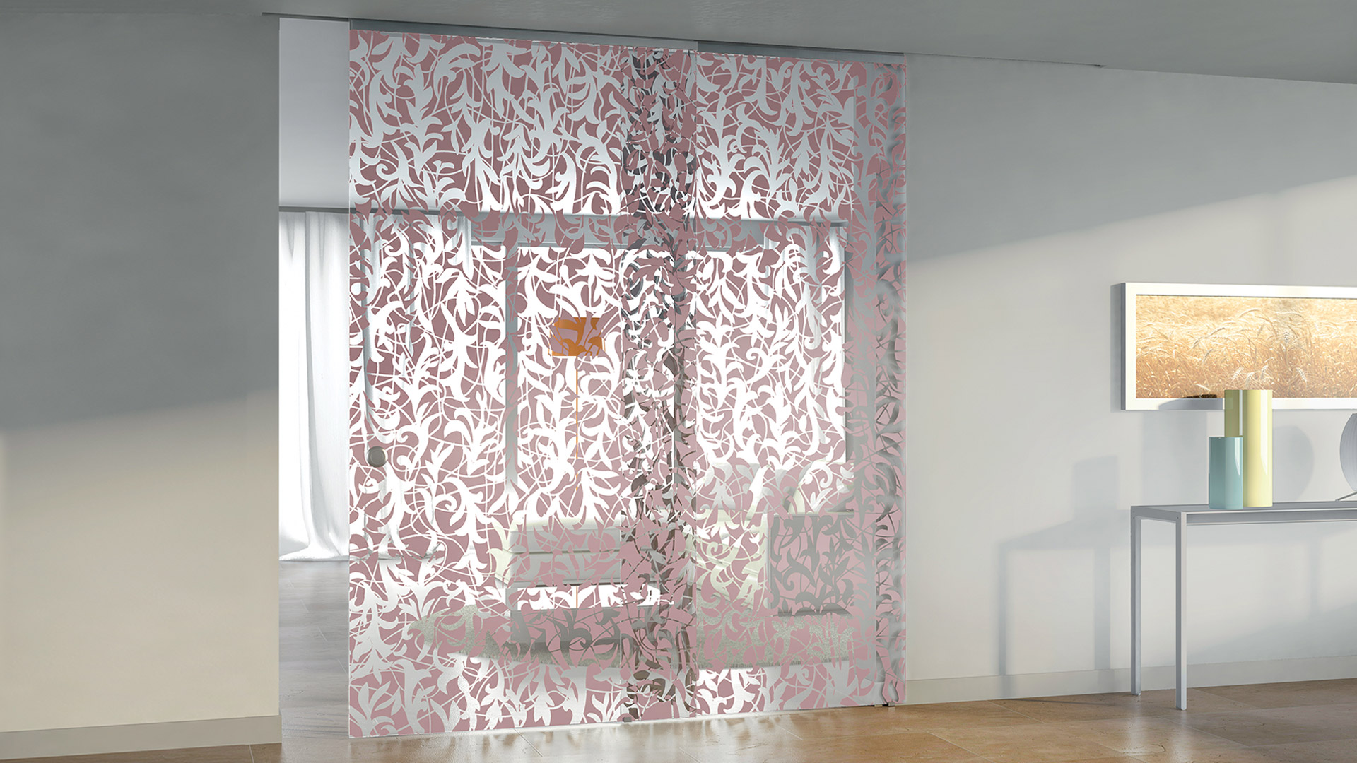 Casali soluzioni scorrevoli vetro design arredamento cristal - Casali porte scorrevoli ...