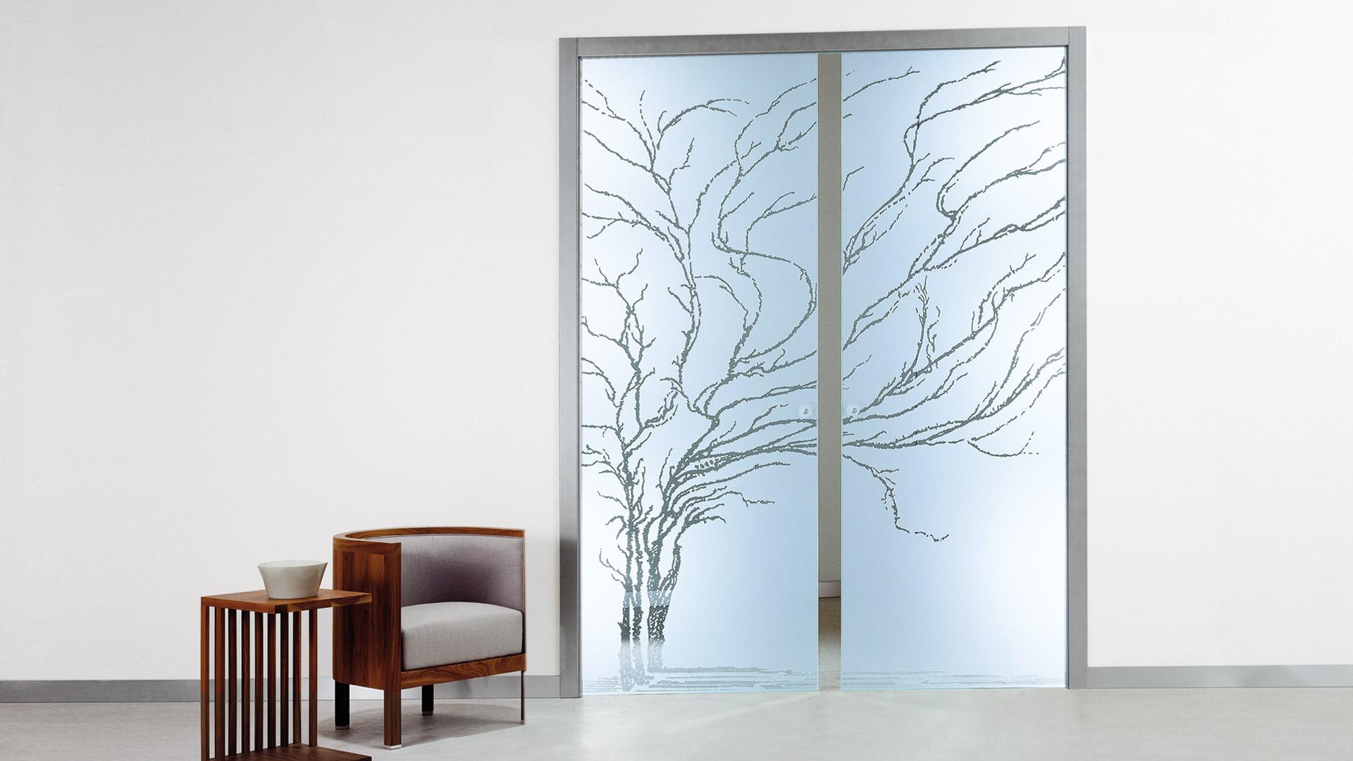 La collezione i soggetti porte di vetro casali - Design d interni milano ...