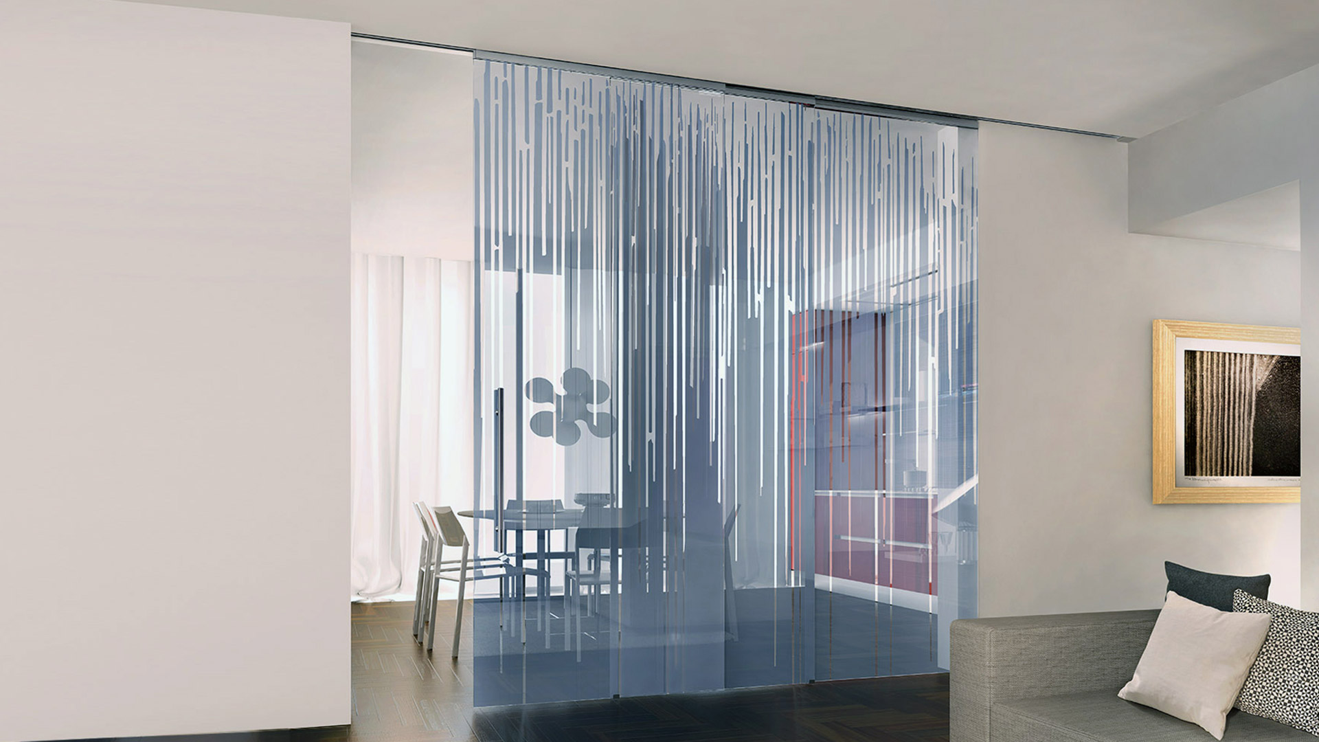 Pareti Di Vetro Scorrevoli : Pareti scorrevoli in vetro beautiful porte in vetro scorrevoli